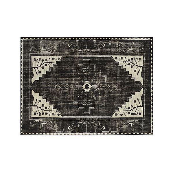 Anice Black 8'x10' Rug