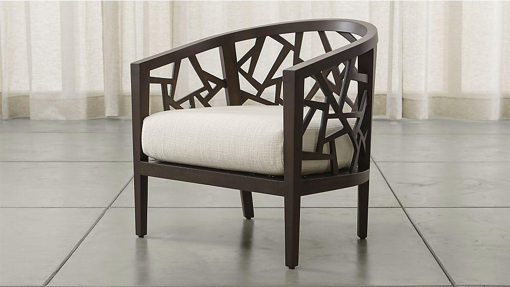 Ankara Chair with Cushion