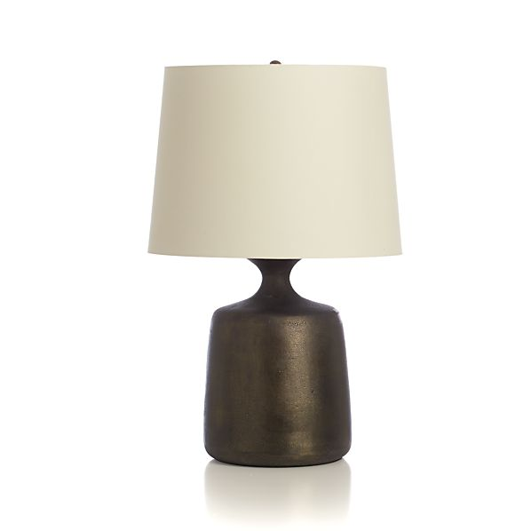Antiqued Bronze Table Lamp