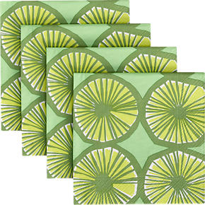 Set of 20 Marimekko Appelsiini Paper Luncheon Napkins