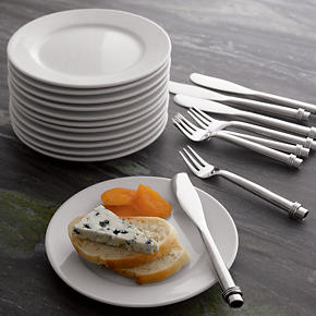 Round Rim 6 Appetizer Plate