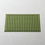 Thirsty Dots™ Green Apartment Floor Mat
