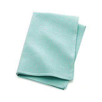 Aqua Sky Waffle Dish Towel