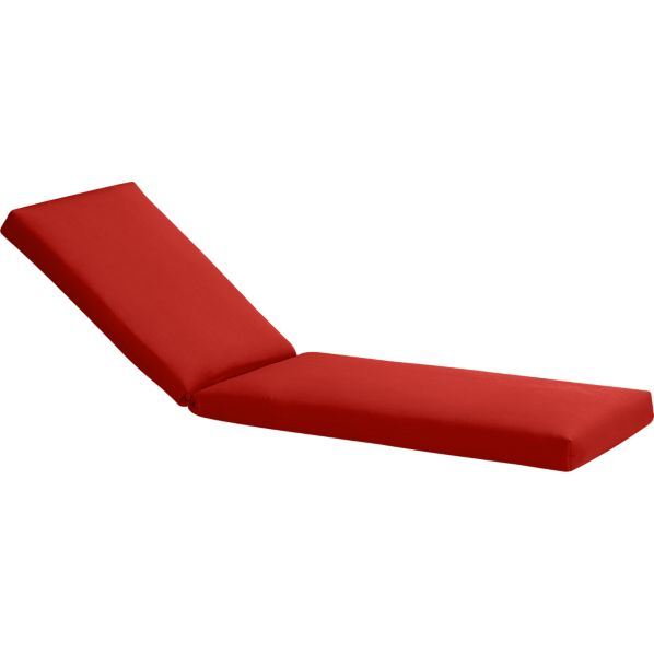 Arbor Sunbrella® Caliente Chaise Lounge Cushion