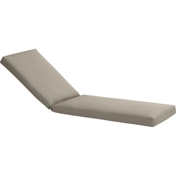 Arbor Sunbrella® Stone Chaise Lounge Cushion