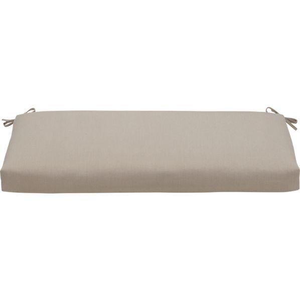 Arbor Sunbrella ® Stone Garden Bench Cushion