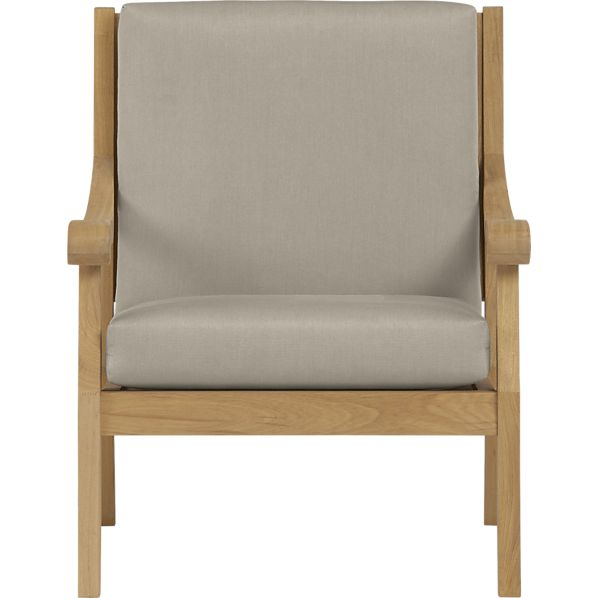 Arbor Lounge Chair with Sunbrella® Stone Cushion