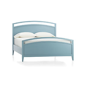 Arch Blue Queen Bed