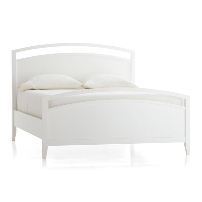 white queen bed frames NVzvUs0U