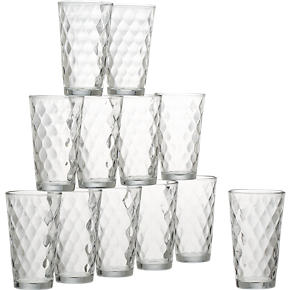 Argyle Tumblers Set of 12
