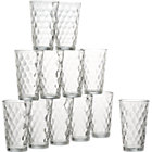 Set of 12 tumblers. 16 oz.
