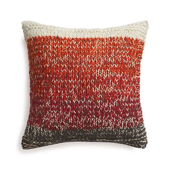 "Arlo Red 20"" Pillow"