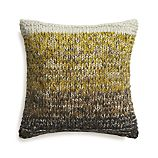 "Arlo Yellow 20"" Pillow with Down-Alternative Insert"
