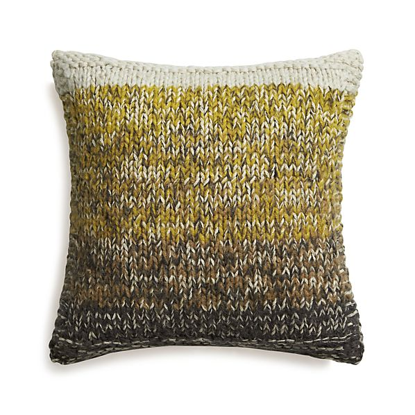 "Arlo Yellow 20"" Pillow"