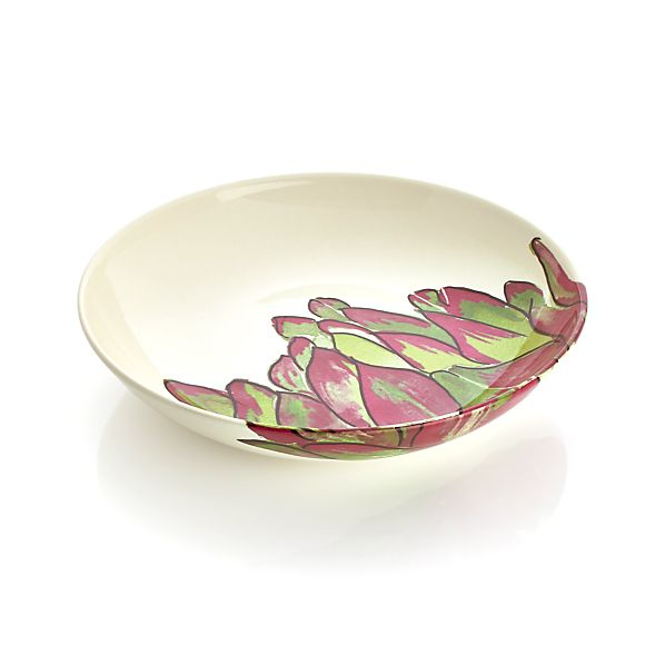 Artichoke Pasta Serving Bowl