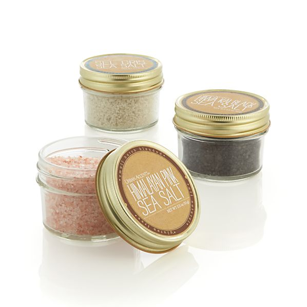 Urban Accents Artisan Salt Trio