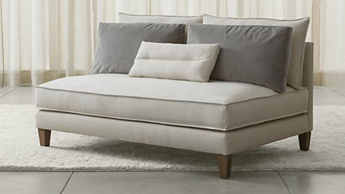 Asana Armless Loveseat