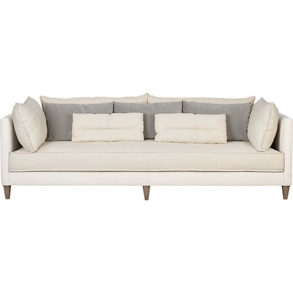 Asana sofa in asana sofa collection crate and barrel for Crate and barrel sofa