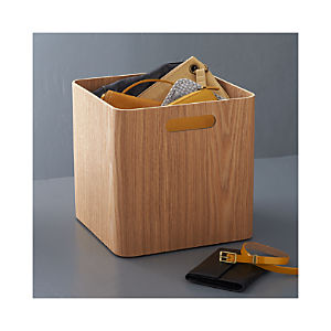 Large Ashwood Bin