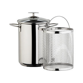 Crate and Barrel Stainless Cookware by Berndes Asparagus Steamer