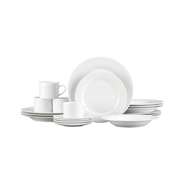 Aspen 20-Piece Dinnerware Set