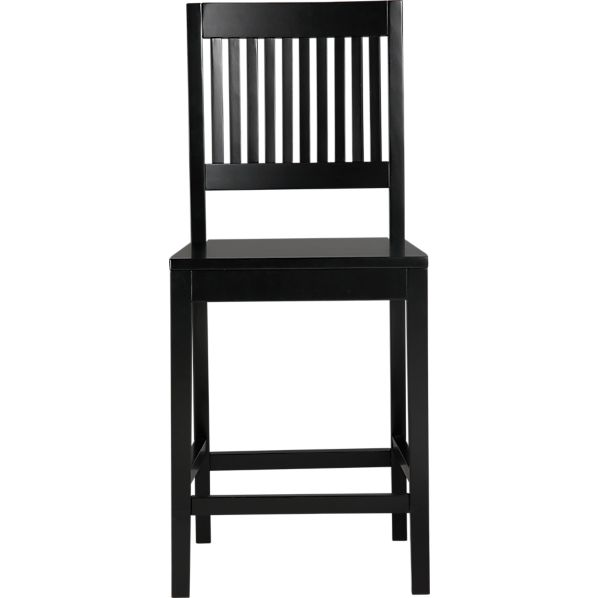 "Aspen 24"" Black Counter Stool"