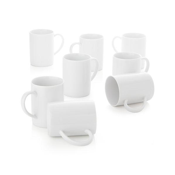 Set of 8 Aspen Mugs