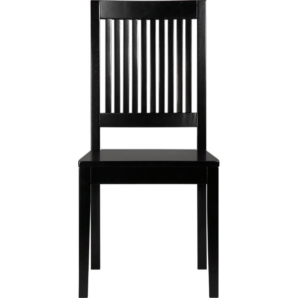 Aspen Black Side Chair
