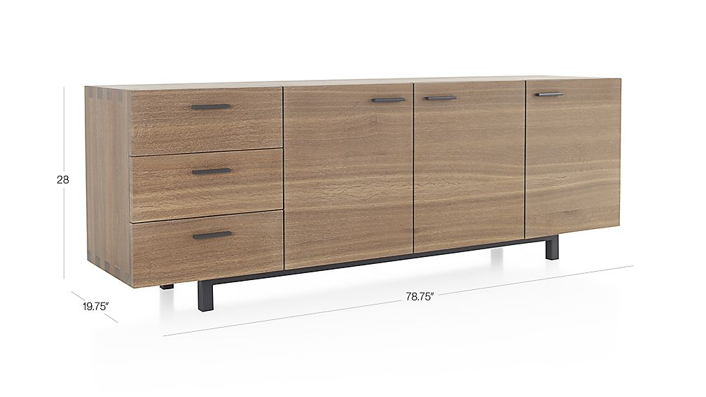 Aspen Sideboard In Buffets Amp Sideboards Crate And Barrel
