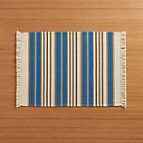 Aspen Stripe Blue Placemat