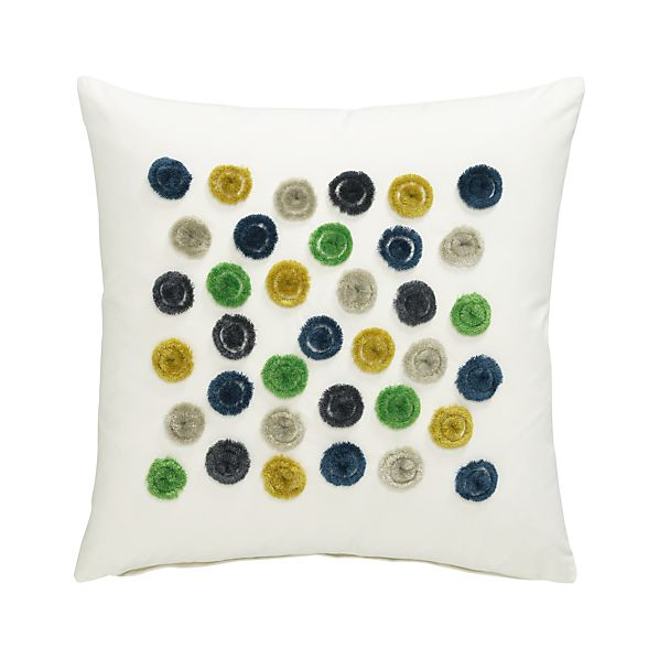 "Astrid 16"" Pillow with Down-Alternative Insert"