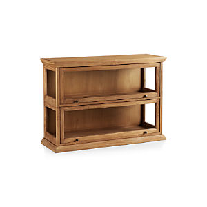 Atticus 2-Piece Barrister Bookcase