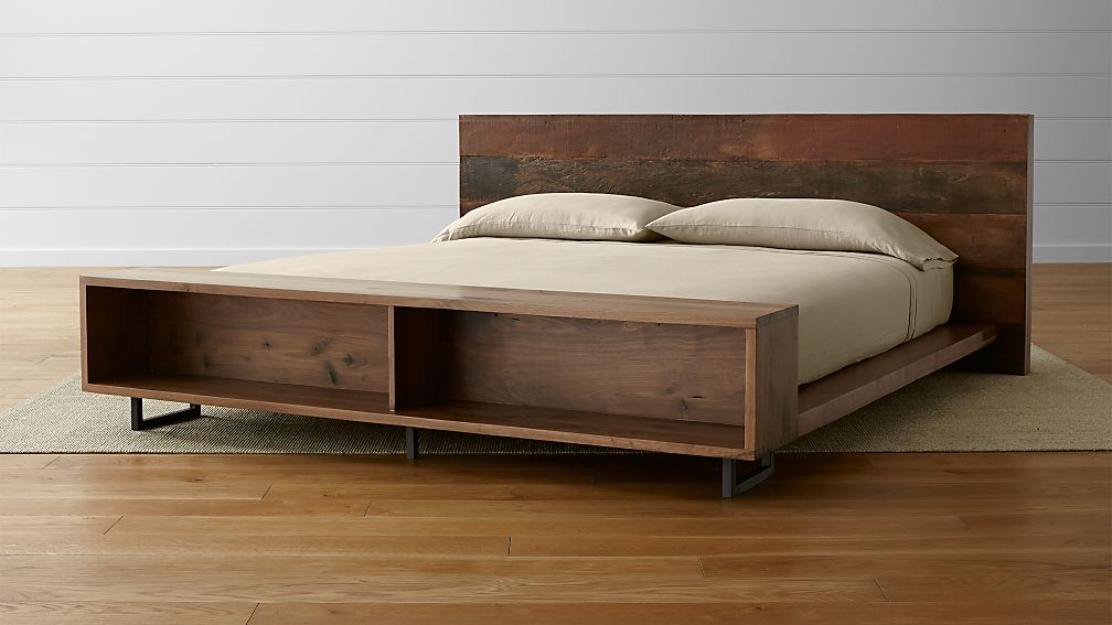 Atwood King Bed with Bookcase