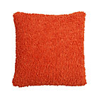 Aubree Boucle Orange Pillow.