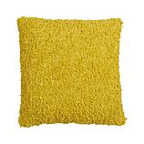 Aubree Boucle Yellow 18&quot; Pillow