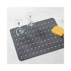 Aura Charcoal Large Sink Mat