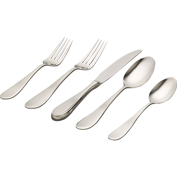 Austen Flatware in Flatware Patterns | Crate and Barrel