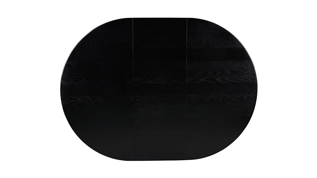 "Avalon 45"" Black Extension Dining Table"