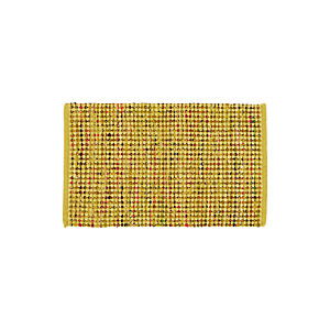Avalon Yellow 2'x3' Rag Rug