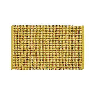 Avalon Yellow Rag Rug