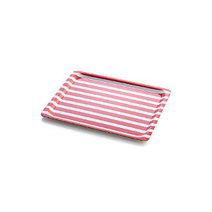 Awning Stripe Tray