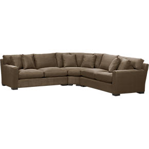 Axis 3-Piece Wedge Sectional Sofa