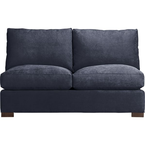 Axis Armless Sectional Loveseat