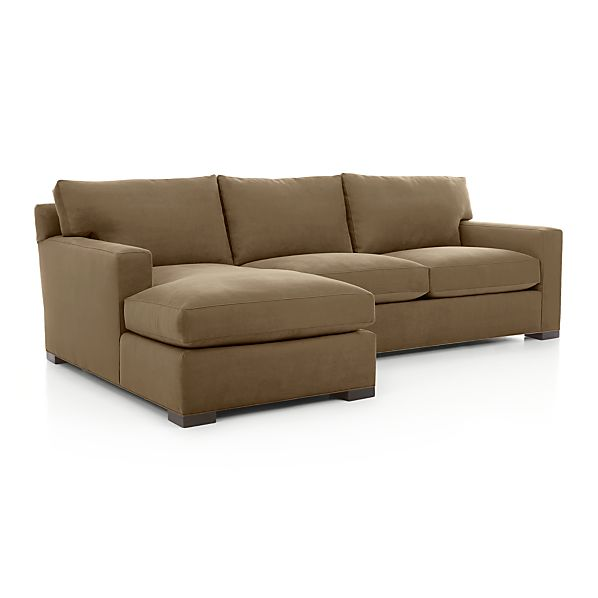 Axis II 2 Piece Sectional Sofa Crate And Barrel