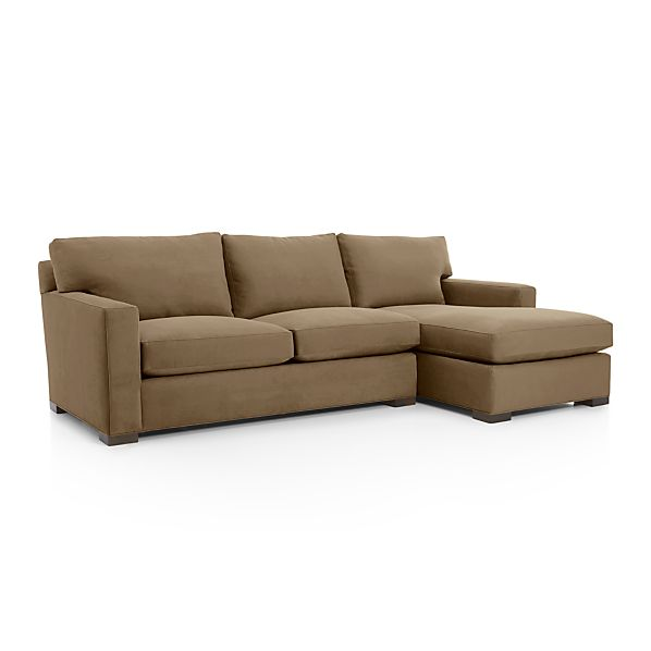 Axis II 2 Piece Sectional Sofa Coffee Crate And Barrel