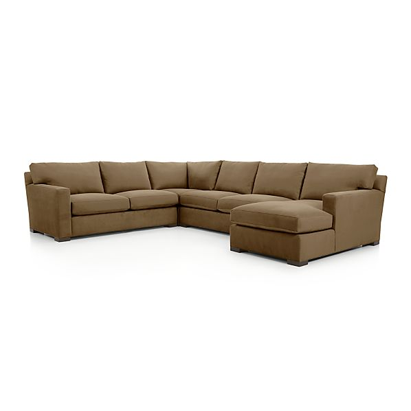 Axis II 4-Piece Sectional Sofa - Coffee