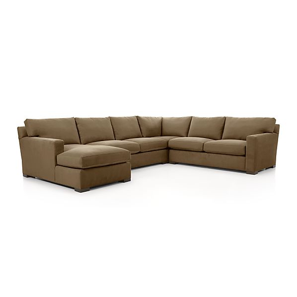 Axis II 4 Piece Sectional Sofa Coffee Crate And Barrel