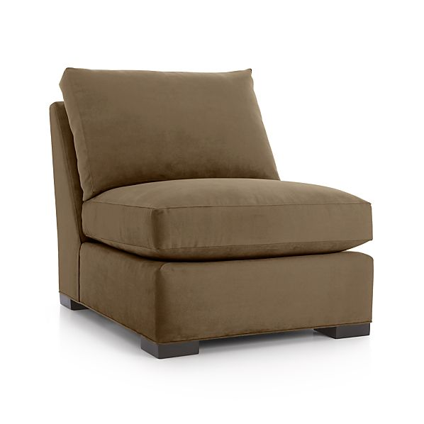 Axis ii armless chair coffee crate and barrel for Crate and barrel armless chair