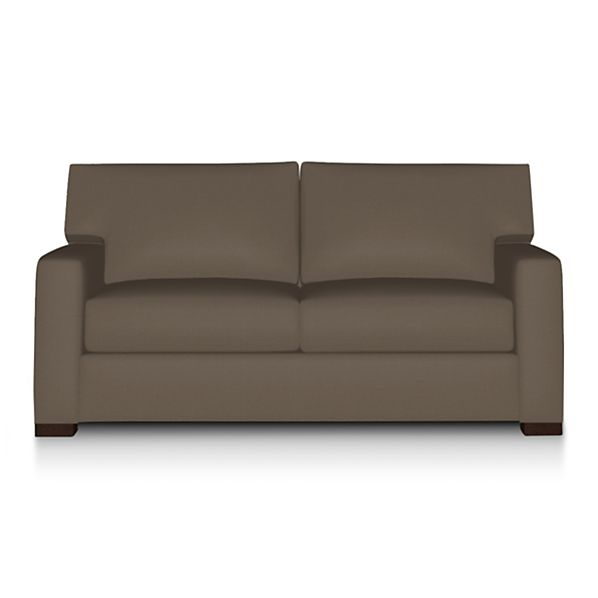 Axis II Apartment Sofa - Coffee | Crate and Barrel