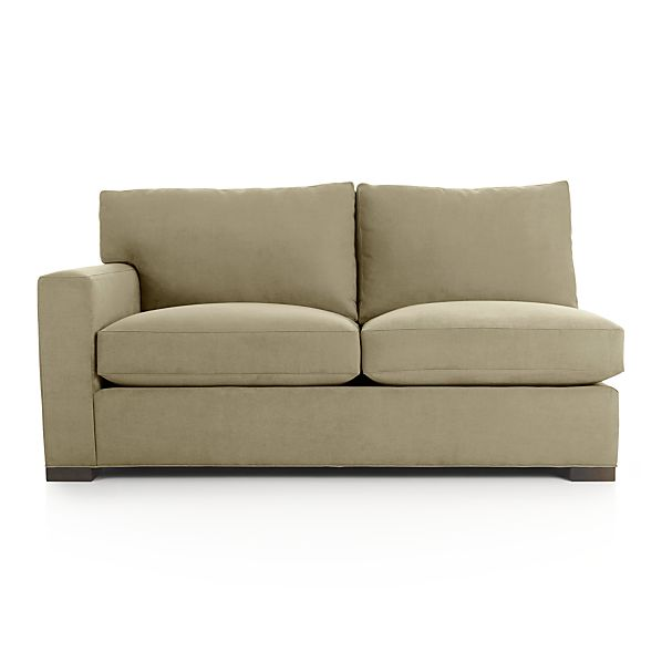Axis II Left Arm Sectional Apartment Sofa